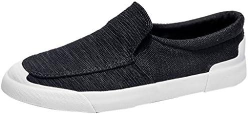 YaNanHome Zapatos para Hombre/Alpargatas Zapatos de Lona de Estilo Nuevo de Verano Zapatos Casuales de Hombre Zapatos de Tablero de Moda de Poste de ...