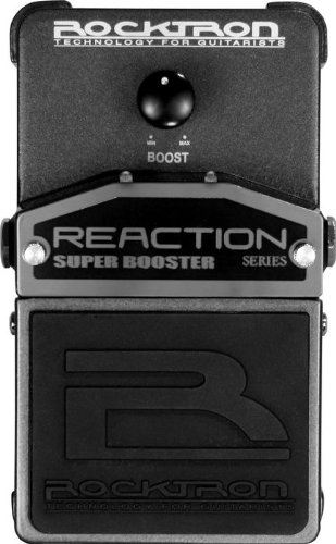 大人の上質  ROCKTRON BOOSTER REACTION ROCKTRON SUPER B002Y0O9X8 BOOSTER エフェクター B002Y0O9X8, 上都賀郡:35fbb55f --- a0267596.xsph.ru