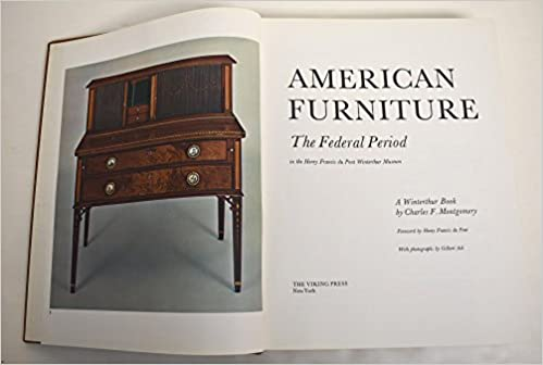 Miraculous American Furniture The Federal Period Amazon Co Uk Download Free Architecture Designs Jebrpmadebymaigaardcom