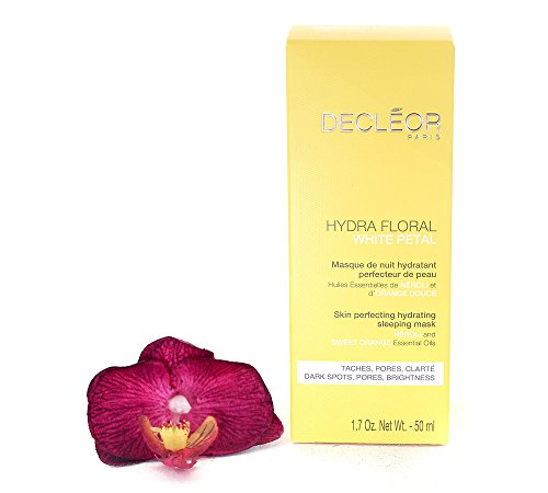 Decleor Mask White (Decleor Hydra Floral White Petal Neroli & Sweet Orange Skin Perfecting Hydrating Sleeping Mask 50ml/1.7oz)