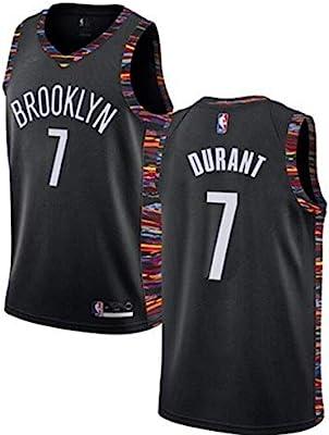 VF LSG Mens Brooklyn Nets #7 Kevin Durant Jersey Black City Edition