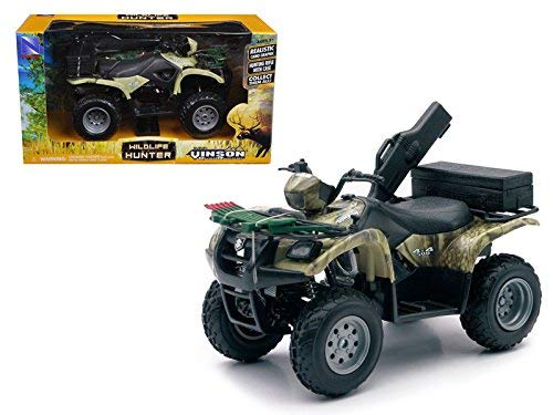- New Ray Suzuki Vinson 4x4 500 Quad Runner Green ATV Motorcycle 1/12 Diecast Model