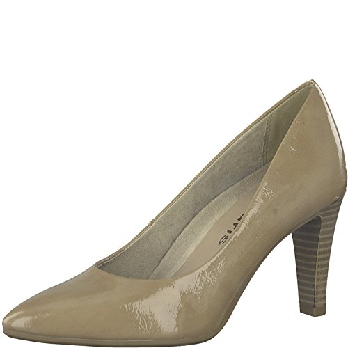 Tamaris Women's 22409-21 Court Shoes Nude Patent bFFyoj9