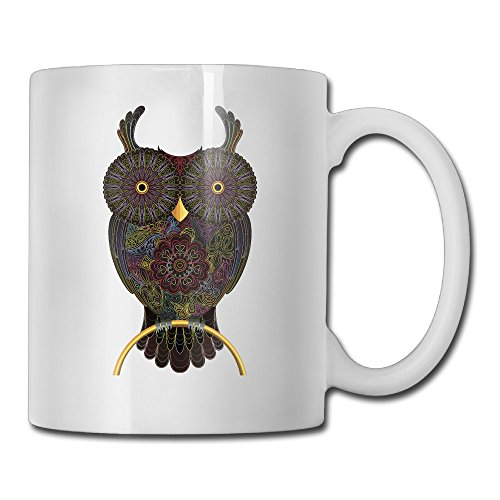 Walker As Wise As Owl Funny Amazing Ceramic Coffee Mug - Gift For Women, Mom, Dad, Brother, Sister - Valentineâ€s Day, Boyfriend, Girlfriend, Husband Or Wife-11OZ - Keep Liquid Hot For Longer - Making A Wise Man Costume