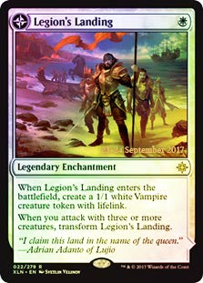 (Magic: The Gathering - Legion's Landing // Adanto, The First Fort - Foil - Prerelease Promo)