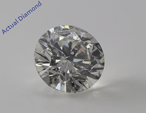 Diamant Rond taillés (1.03 Ct, H Couleur,SI2 Clarté) IGL Certifié
