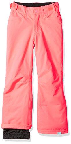 yard Snow Pant, Neon Grapefruit, 12/L (Roxy Womens Girls Pants)