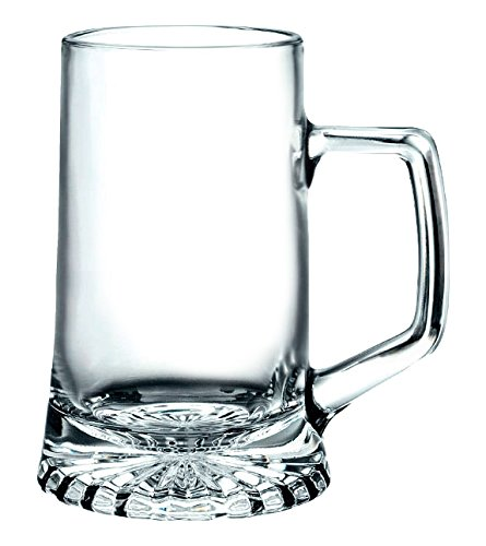 Bormioli Rocco 6 x Beer Stein Star Various Sizes Size 26cl