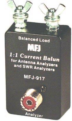 MFJ-917 Balun, 1:1, Current, for SWR Analyzer