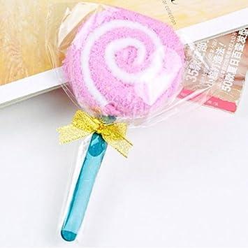 Toalla colorida del Lollipop, regalo del banquete de boda del paño del lavado del color del ...