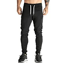 Ouber Mens Dri-fit Jogger Pants Gym Sweatpants Workout Training Tracksuit
