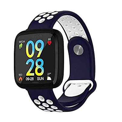 WANGNANA smart watchSmart Watch Waterproof Fitness Bracelet Heart Rate Blood Pressure Blood Oxygen Wristband Man Woman For Estimated Price £80.00 -