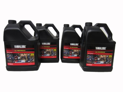 04 2S 2 Stroke Oil, Gl/4; New # LUB-2STRK-S1-04 Made by Yamaha (Yamaha 2 Stroke)