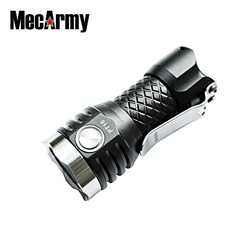 - MecArmy PT16 1000 Lumens Rechargeable LED Ultra Compact Keychain Flashlight