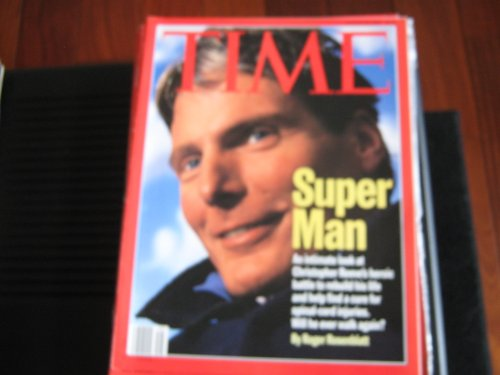 Time Magazine August 26 1996 Super Man Christopher Reeves  Will he Ever Walk Again? By Roger Rosenblatts