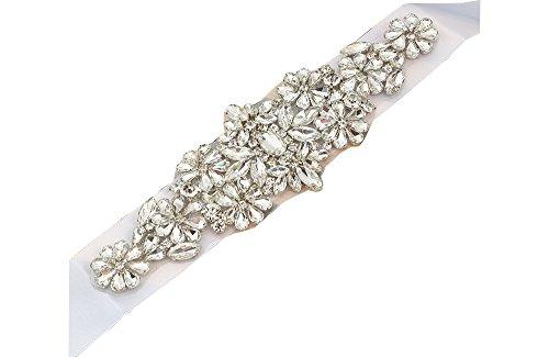 embellished belt for wedding dress - 7