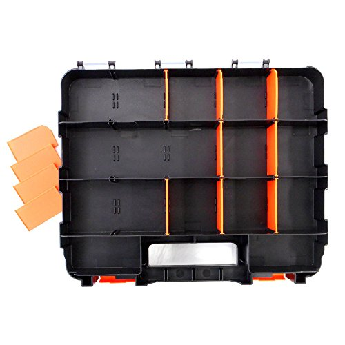 HDX 320028 34-Compartment Double Sided Organizer with Impact Resistant Polymer and Customizable Removable Plastic Dividers by HDX (Image #4)