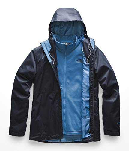 The North Face Men's Arrowood Triclimate -Tall, Urban Navy, Large (North Face Jacket Ski Triclimate)