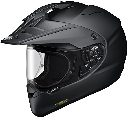 Shoei Hornet X2 Matte Black SIZE:LRG Full Face Motorcycle He