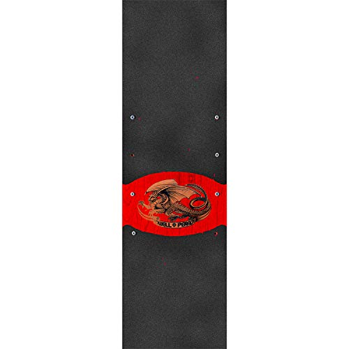 (Powell-Peralta Wide Oval Dragon Griptape - 10.5