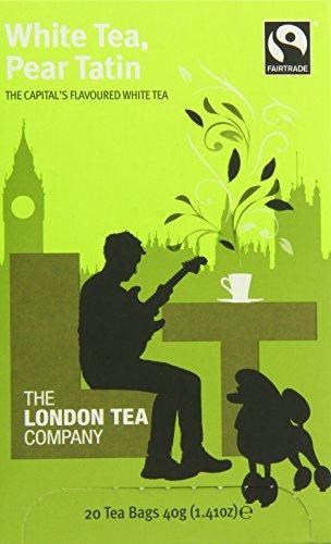 The London Tea Company White Tea, Pear Tatin, 1.4 Ounce