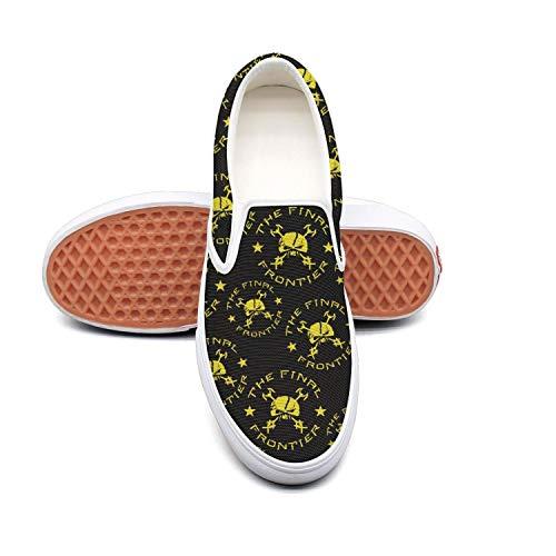 YANYANGer Loafers Comfortable Jazz Music Canvas Sneaker Woman Rubber Sole Jogger Shoe Skates ()