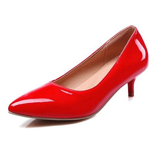 Da 5 E Fahion Donna Scarpe Basso Sjjh Con Colori Tacco Rosso Ufficio Confortevoli Lavoro Per 8w0E1Fq