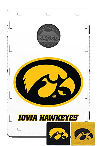 Baggo 1545 University of Iowa Hawkeyes Complete Baggo Bean Bag Toss Game by Baggo (Image #1)'
