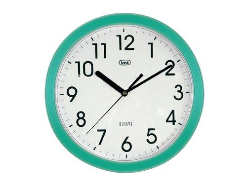 204 opinioni per Trevi OM 3301 - Orologio da Parete- Quarzo silenzioso – 25cm – Verde