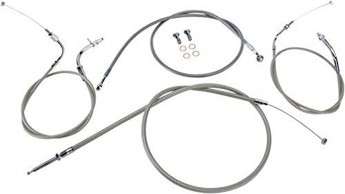BARON CUSTOM ACCESSORIES BARON CABLE/BRAKE LN KIT SS +2 by Baron Custom Accessories
