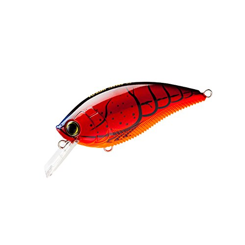 Yo-Zuri R1105-CF 3DB Squarelip Shallow Floating Diver Lure, Crawfish
