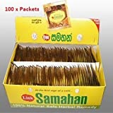 Samahan tea x 100 sachets (shipped directly from Sri Lanka)