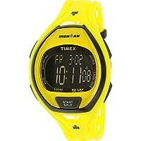 Reloj Timex Unisex TW5M01800 Ironman Sleek 50 de neón amarillo con correa de resina