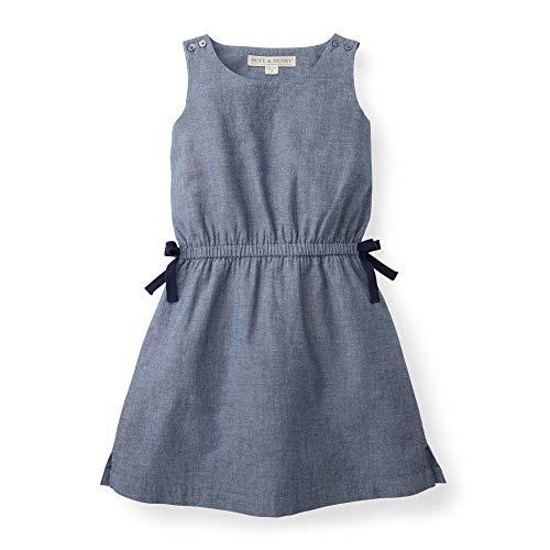 (Hope & Henry Girls' Chambray Tie Waist Dress )