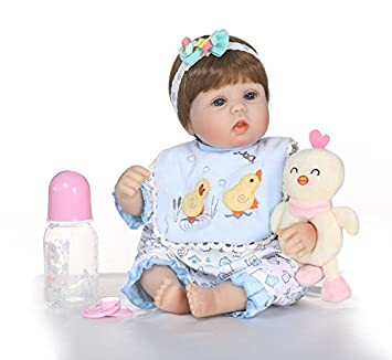 Npk 40cm Silicone Reborn Baby Doll Toy Play House Bedtime Toy For Kids Soft Vinyl Sleeping Newborn Girl Babies Doll Toys & Hobbies