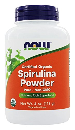 NOW Foods - Spirulina Powder 100% Pure and Natural - 4 oz. by NOW Foods