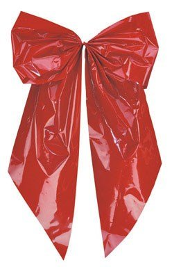 Holiday Trims Giant Red Bow 18'' For Indoor/Outdoor Use by Holiday Trim
