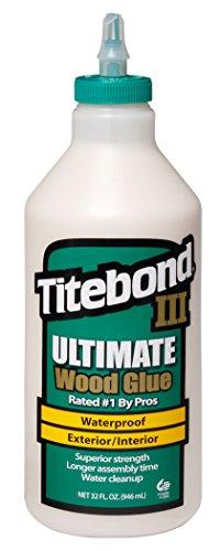 Franklin International 1415 Titebond III Ultimate Wood Glue, 32-Ounce Bottle