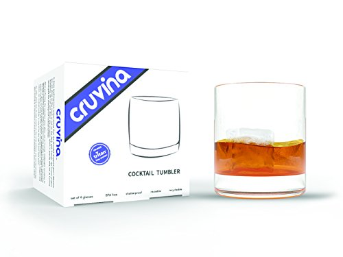 Classic Cocktail Whiskey Tumbler Glasses product image