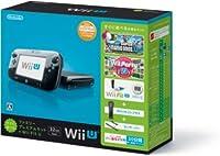 Wii U すぐに遊べるファミリープレミアムセット+Wii Fit U(クロ)の商品画像