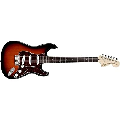 Squier by Fender 321600537 Standard Stratocaster Electric Guitar - Antique Burst - Rosewood Fingerboard