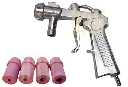 Sandblaster Air Siphon Feed Blast Gun Nozzle Ceramic Tips Abrasive Sand Blasting - Ceramic Sandblast Nozzle