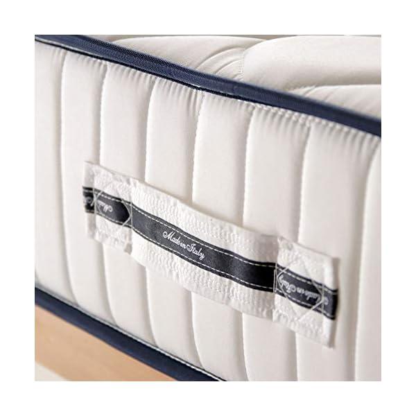 Materasso anatomico Eva H17cm, con accogliente memory Foam e poliuretano+2 cuscini in fior di memory, matrimoniale… 3 spesavip