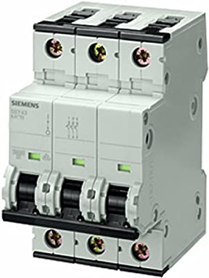 Siemens - Interruptor automático 70 accesoriable 10ka curva-a 3 ...