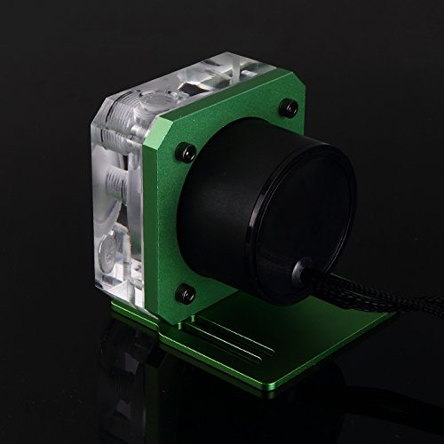 Bykski B-PMS5-NX Automatic Speed Control D5 Water Pump For Computer Water Cooling Liquid (Green)