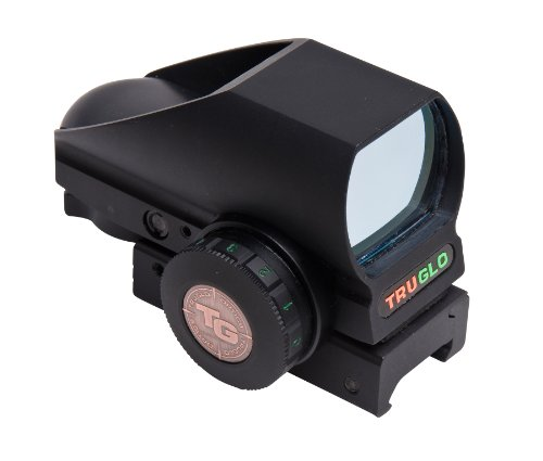 Truglo Red-Dot Tru-Brite Open-Dot Multi Blk Box, Black, Outdoor Stuffs