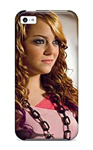 Durable Defender Case For Iphone 5c Tpu Cover(emma Stone Widescreen )