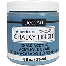 DecoArt DECADC-36.39 Ameri Chalky Finish Colonial Americana Decor Chalky Finish 8oz Colonial
