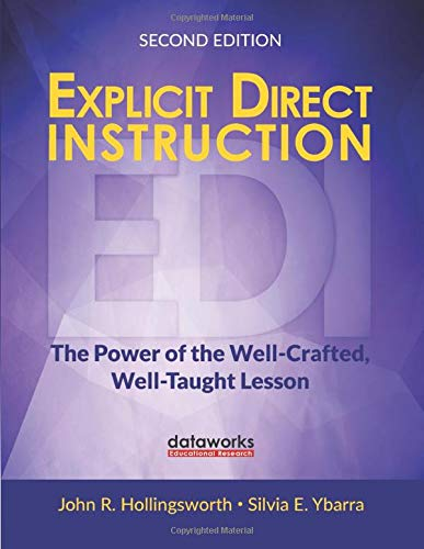 Explicit Direct Instruction  EDI   The Power Of The Well Crafted Well Taught Lesson  Corwin Teaching Essentials