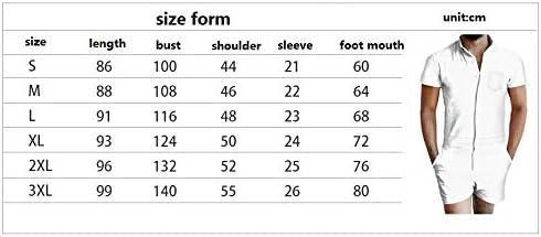 JJCat Womens//Mens Short Sleeve 3D Digital Print Little Stones Short Design Zipper Closure Lovers Jumpsuits